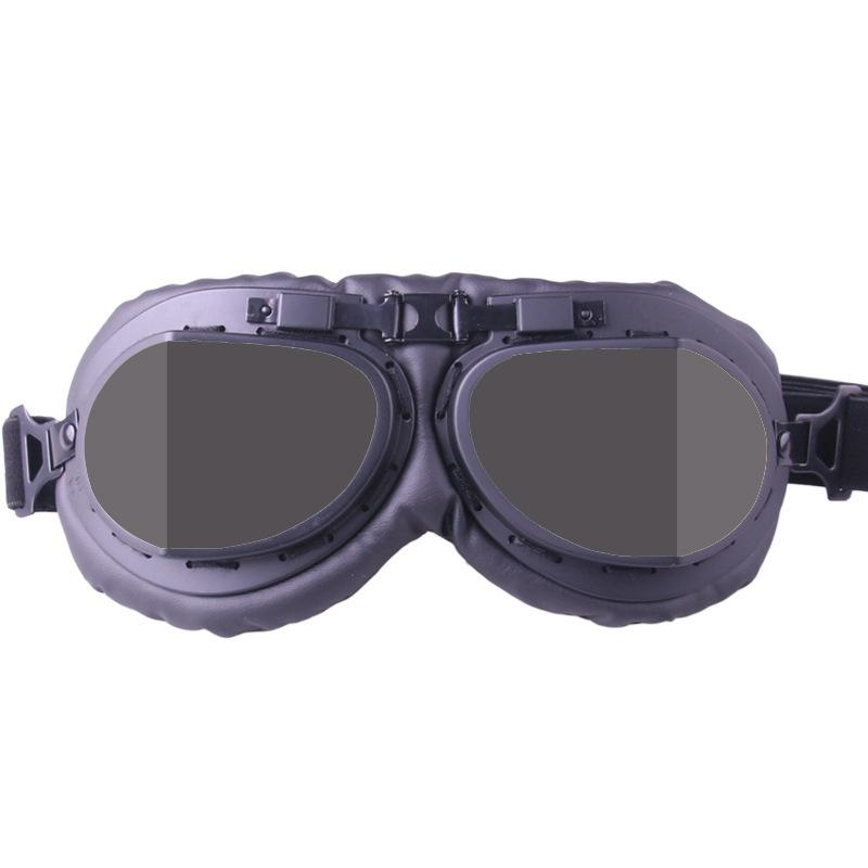 Adeeing Vintage Motorcycle Goggle Pilot Outdoor Goggles Anti - shock Anti - sand Goggles vintage pilot goggles