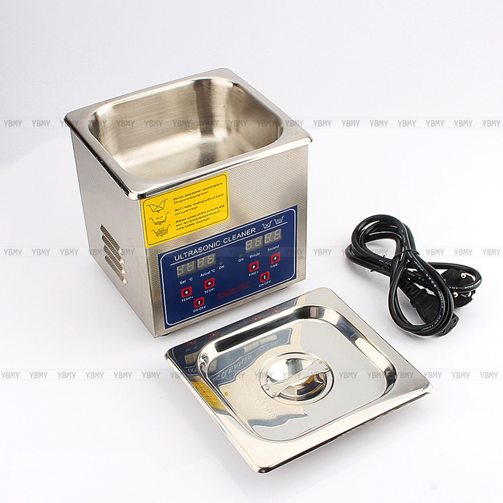 Original 220V 1L Digital Ultrasonic Cleaner Heated Stainless Steel Ultra Sonic Cleaning Machine Local Fast ShippingOriginal 220V 1L Digital Ultrasonic Cleaner Heated Stainless Steel Ultra Sonic Cleaning Machine Local Fast Shipping