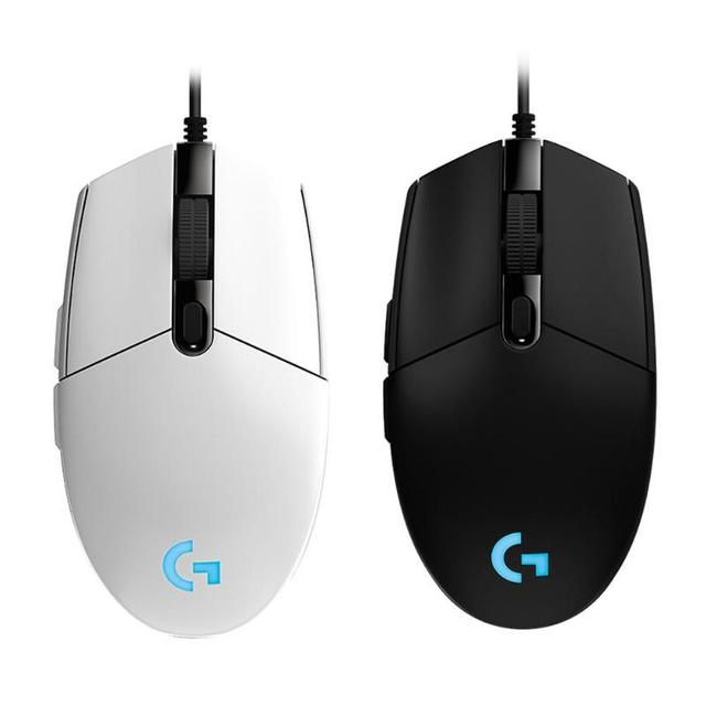 Logitech G102 8000DPI RGB Gaming Mouse Macro Programmable Mechanical Buttons Wired Mouse for PUBG/Overwatch/LOL Games