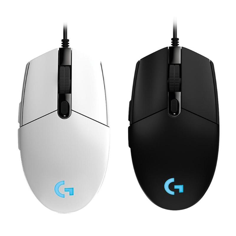 Logitech Mouse G102/G403 Ergonomic Gaming Mouse Macro Programmable Mechanical Buttons Wired Mause For PC Laptop