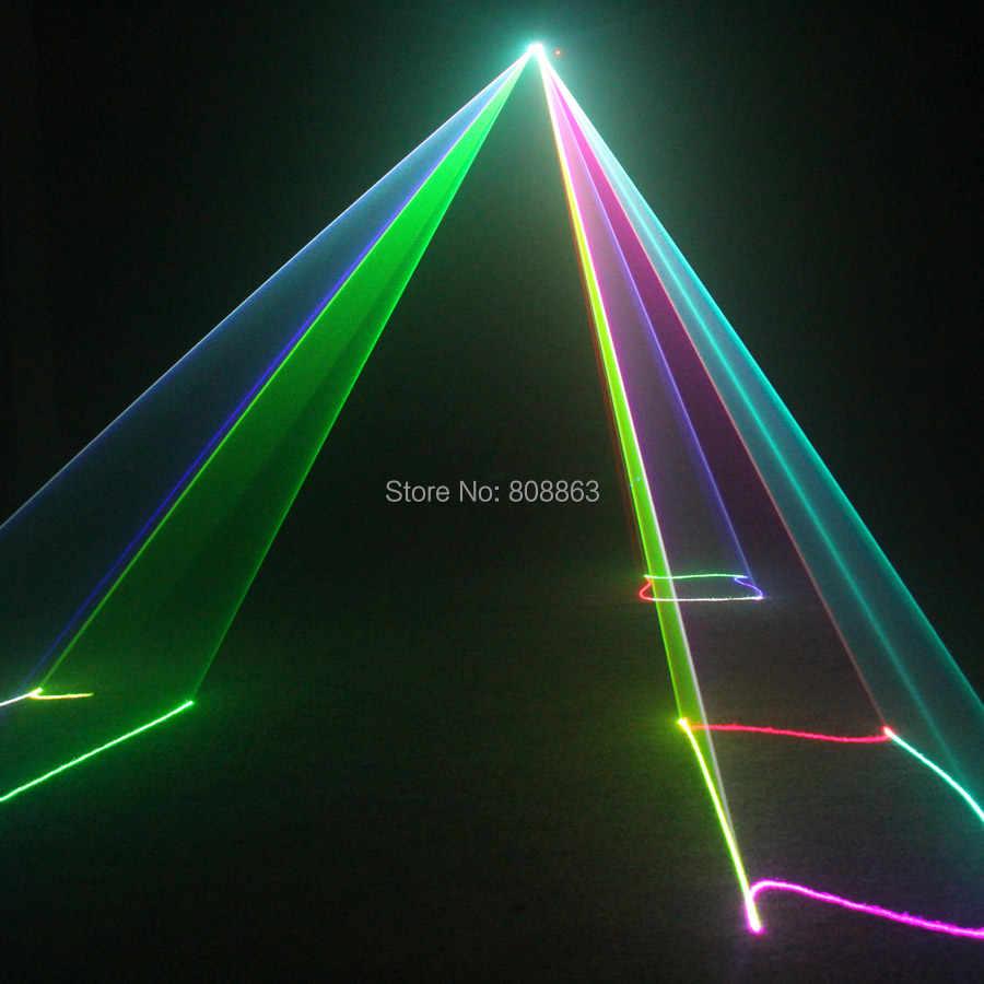ESHINY RGB лазерные линии луч сканирует 400 удаленного DMX DJ танец бар кофе Xmas домашняя дискотека эффект Освещение Свет системы N9D77