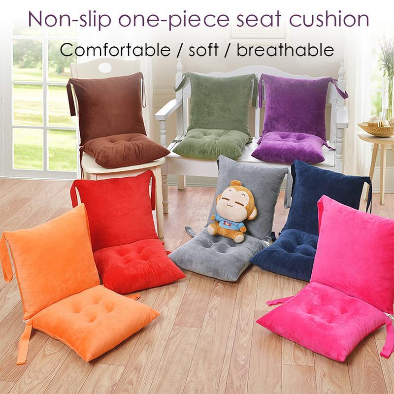 One Piece Cushion Lumbar Pillow EPE Mat Sofa Office Chair Backrest