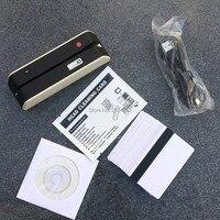 MSR X6 USB-Powered Magnetic Stripe Card Reader Writer Encoder Loco Hico 3 Track Magstripe Cards Compatible W/ MSR605 MSR X6 BT