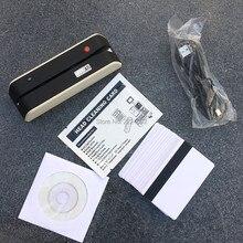 MSR X6 USB-Powered Magnetic Stripe Card Reader Writer Encoder LoCo HiCo 3 Track Magstripe cards compatible w/ MSR605 MSR X6 BT 1000pcs custom vip card printing membership loyalty cards member magnetic strip plastic card 1 pcs 2nd track reader