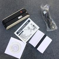MSR X6 USB Powered Magnetic Stripe Card Reader Writer Encoder LoCo HiCo 3 Track Magstripe cards compatible w/ MSR605 MSR X6 BT
