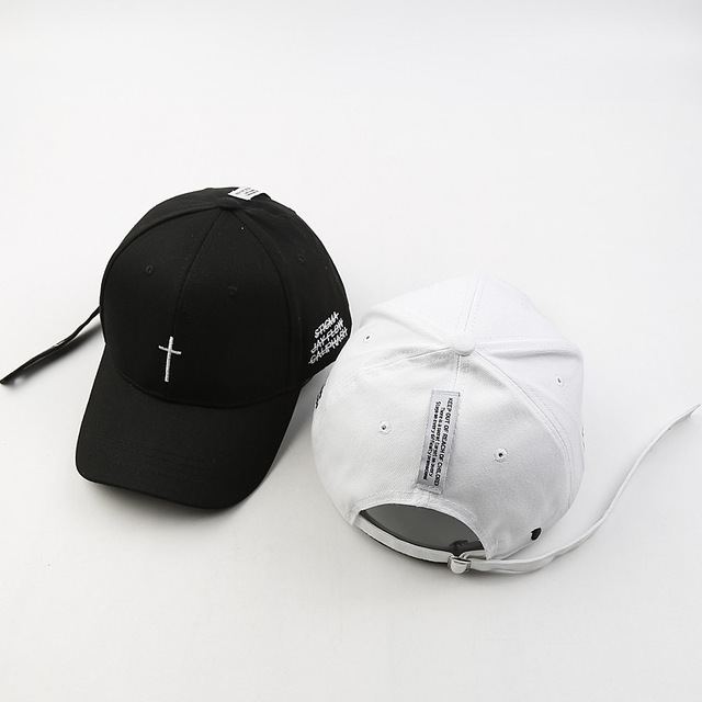 2018 Embroidery Christian Cross Cotton Cap Baseball Cap casual Snapback Hat  Hip Hop Jesus God Cap hats for Men Women cap fa962088abad