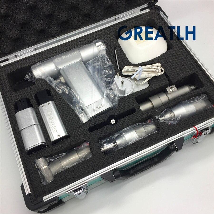 Balançoire multifonction scie Portable électrique perceuse à os canulé Animal creux K aiguille AO interface Instrument orthopédique