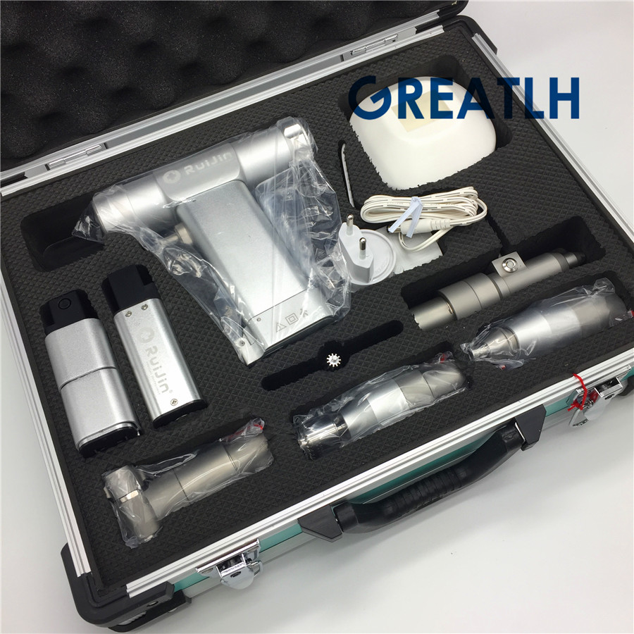 Multifunction Swing Saw Portable Electric Bone Drill Cannulated  Animal Hollow K Needle AO Interface Orthopedic Instrument