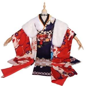 Image 3 - MMGG Azur Lane cosplay Prinz Eugen cosplay costume Kimono Cosplay Clothing Woman C Serve