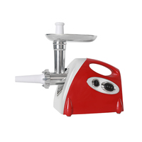 GZZT Multifunction Electric Meat Grinder Sausage Stuffer Mincer 800W Stainless Steel Heavy Duty Home Household Mincer