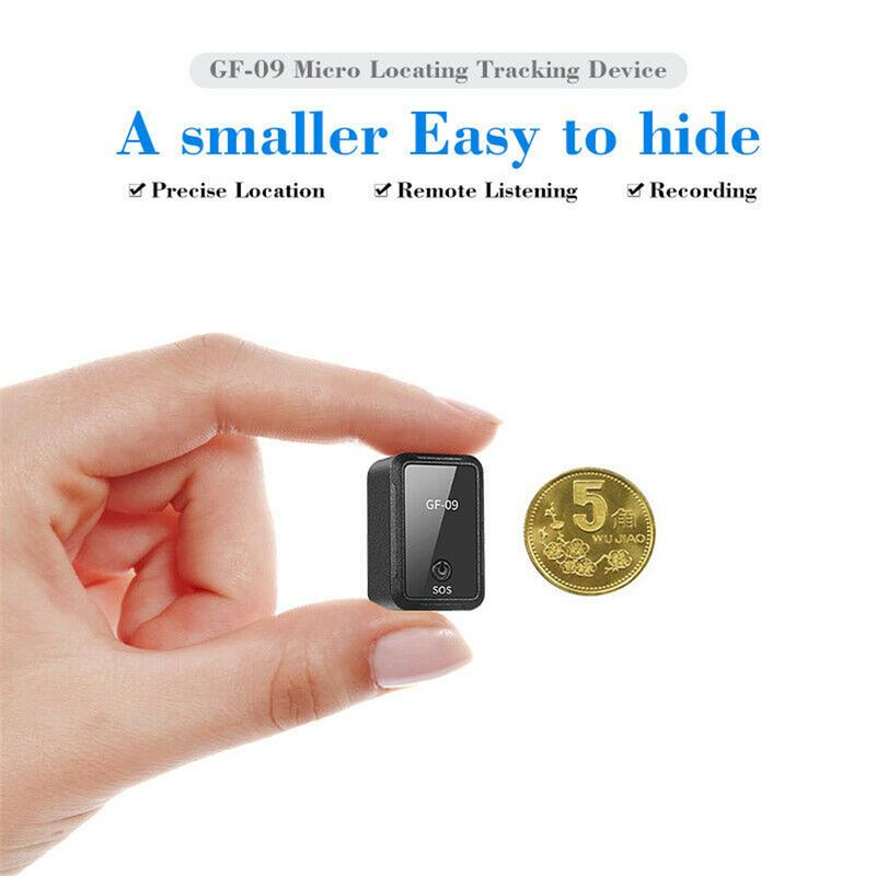 GF-09 Mini GPS Tracker APP Control Anti-Theft Device Locator Magnetic Voice Recorder 2019 New image