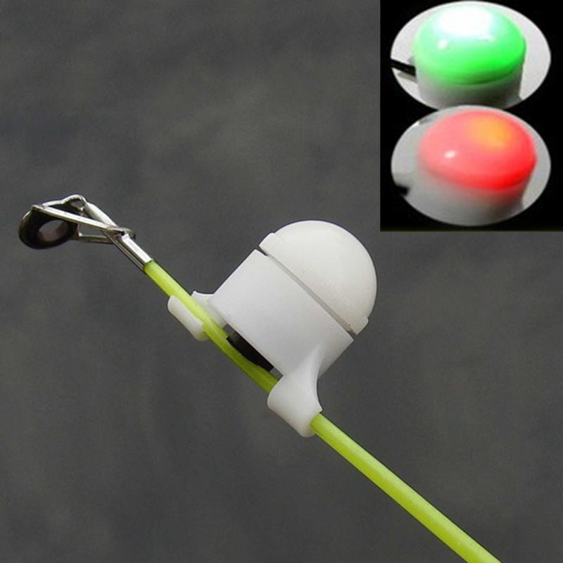 Fishing Bite Alarm Bell Outdoor Fishing Running LED Electronic Fish Bite Night Flashing LED Signal Light Drop Shipping