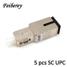 5pcs/bag SC/UPC Male to Female Singlemode Fiber Optical Attenuator 2dB 3dB 5dB 7dB 10dB 15dB Fixed Optical Attenuation for FTTH цена