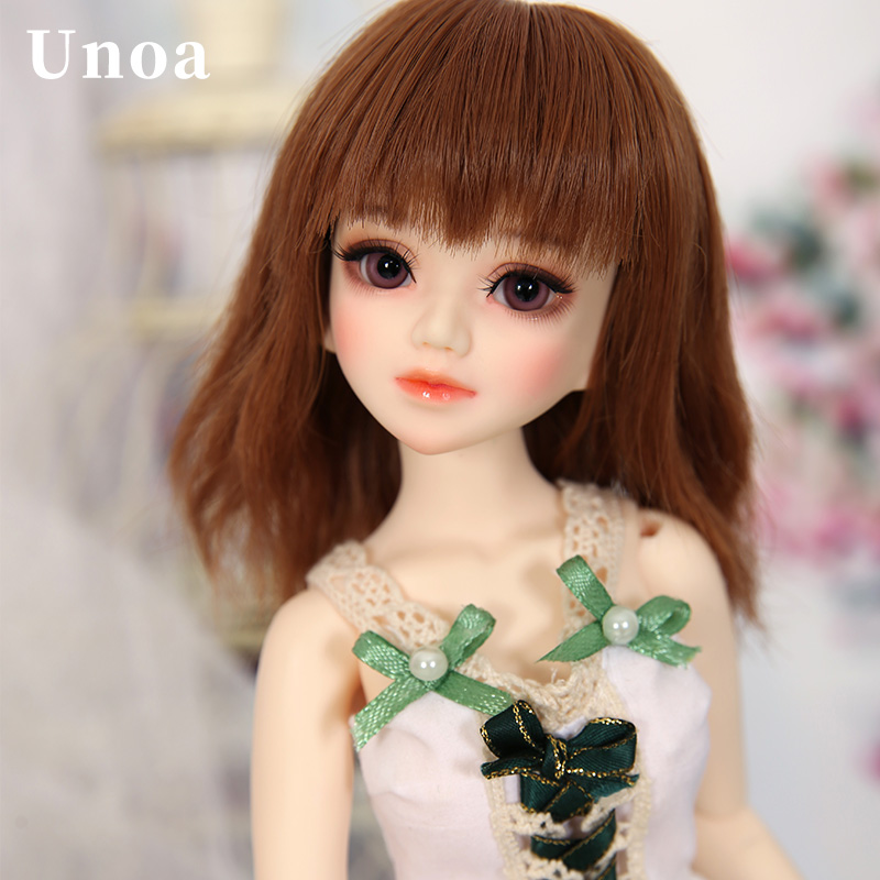 Unoa Lusis BJD Dolls 1/4 body model baby girls boys dolls eyes luts dollsoon dollmore toys shop resin anime accessory hot luxury top brand watch men fashion faux leather men quartz analog business wrist watches men s clock relogios masculino a75
