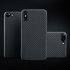 Image 5 - פחמן סיבי מקרה עבור iPhone X מקרה מט ארמיד סיבי Ultra דק באיכות טלפון כיסוי עבור iPhone XS XS מקסימום מקרה Coque
