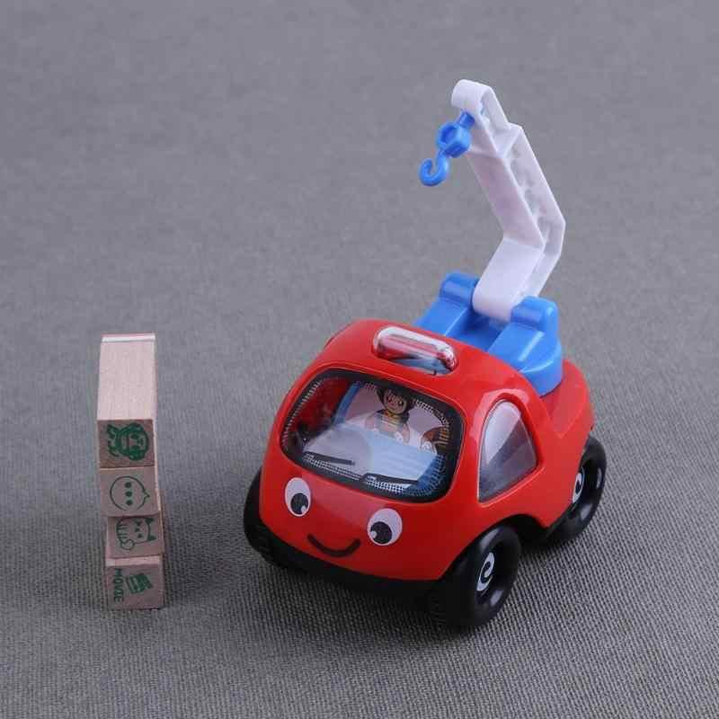 1 ชิ้นดึงกลับรถ Inertial วิศวกรรมยานพาหนะของเล่น Mini การ์ตูนของเล่นรถสำหรับเด็ก Mini รถบรรทุกรถ fairy ของขวัญ