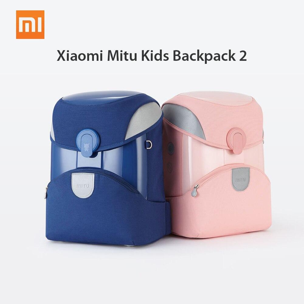 Xiaomi Mitu Kids Backpack 2 Students Children Backpack School Bag School EVA Material Knapsack Simple Shoulder
