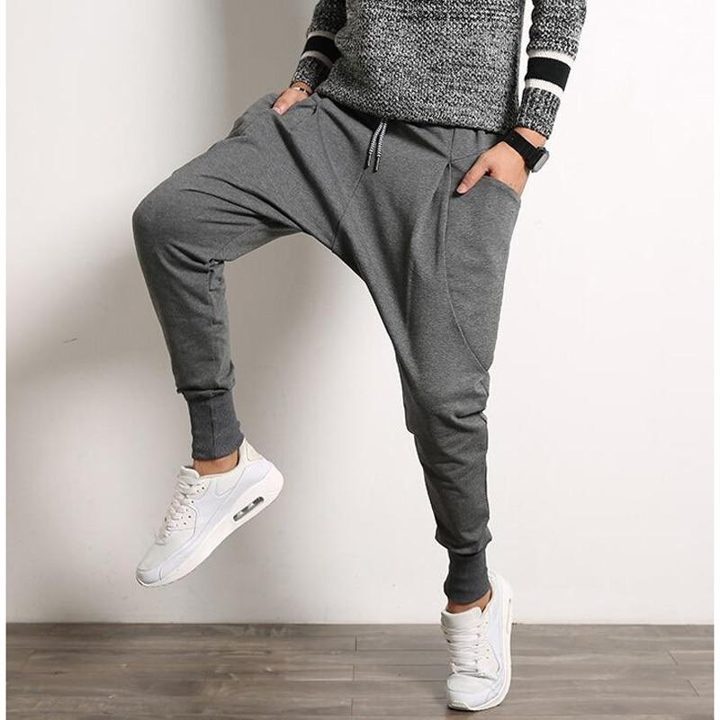 Man Trousers Sweat-Pants Dance-Sporty Hip-Hop Mens Casual Size-M-5xl