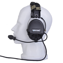 for Airsoft Headset Tactical Headphone Camouflage Military Standard Anti-noise Hearing Protective