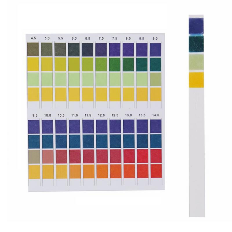 100 Strips/box  0-14 Universal PH Test Paper Strips for Level Alkaline Body Acid Aquariums Drinking Water