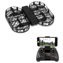 Dwi Dowellin D7 Foldable RC Drone WiFi Camera / Altitude Hold / G-sensor Control / Headless Mode / 3D Flip(China)