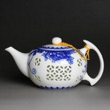 Jingdezhen Porcelain Teapot Ceramics Kung Fu Large Capacity Blue And White Teapots 500ml