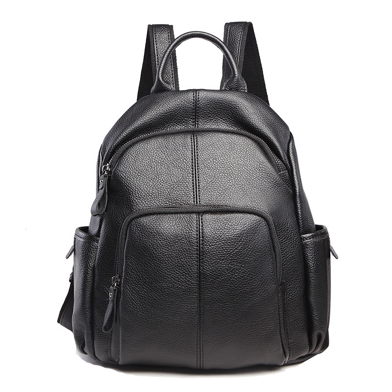100% Genuine Leather Backpacks Fashion Real Natural Leather Student Backpack Boy Luxury Business Laptop School Bag Backpack C844100% Genuine Leather Backpacks Fashion Real Natural Leather Student Backpack Boy Luxury Business Laptop School Bag Backpack C844