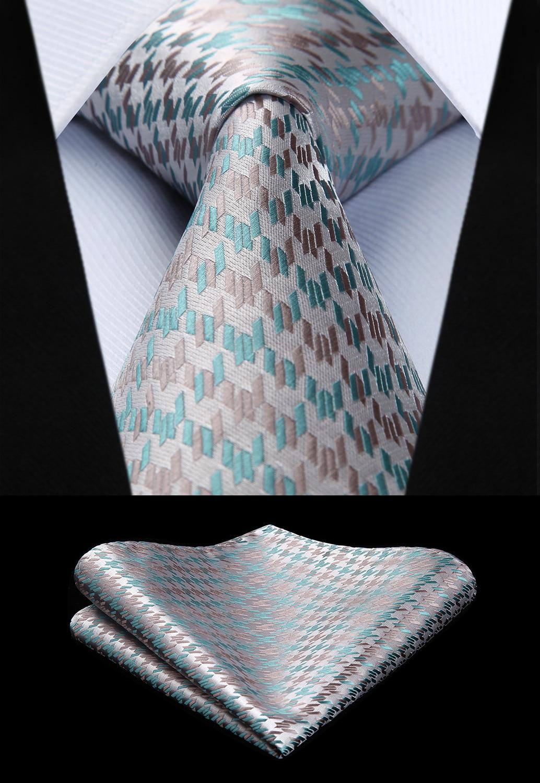 Apparel Accessories Modest Rbocott Mens Tie Set Classic 8cm Necktie And Handkerchief Set Yellow Green Black Paisley Ties Pocket Square Set For Men Wedding