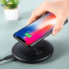 KISSCASE 2 で 1 ワイヤレス充電器 8 プラス X XS 最大 XR ワイヤレス充電器アップル時計 4 3 2 1 、 inalambrico