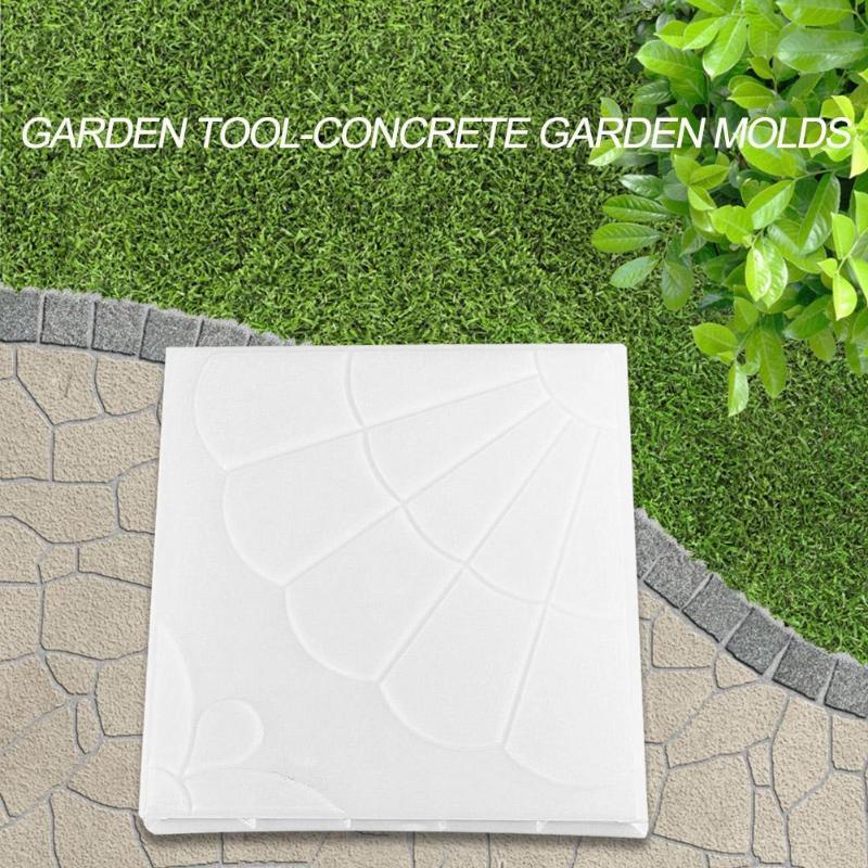 cheapest Garden Diy Round Plastic Mold Cement Brick Road Model Concrete Stepping Stone