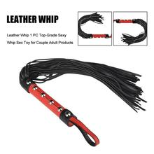 Sex Leather Whip Riding Crop,Spanking BDSM Bondage Paddle ,Fetish Rod Flogger,Sex Toys For Couples Cosplay