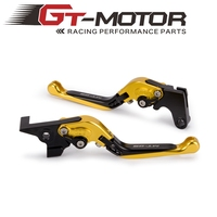 Motorcycle CNC Folding Brake Clutch Levers For YAMAHA MT09 MT 09 MT 09 FZ09 FZ 09 FJ09 2014 2018 Tracer 900