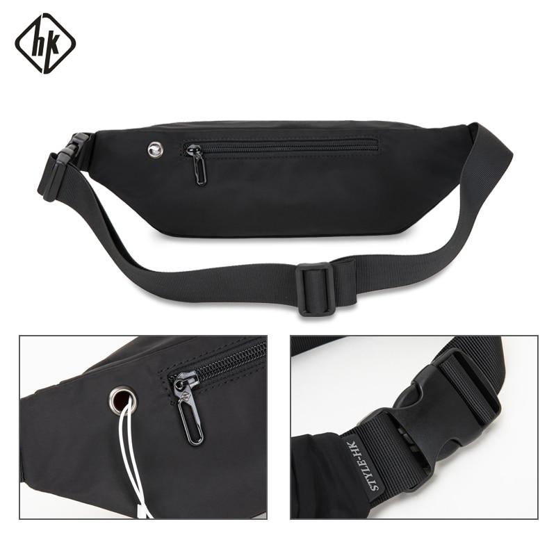 Black Eyelash Sport Waist Pack Fanny Pack Adjustable For Travel