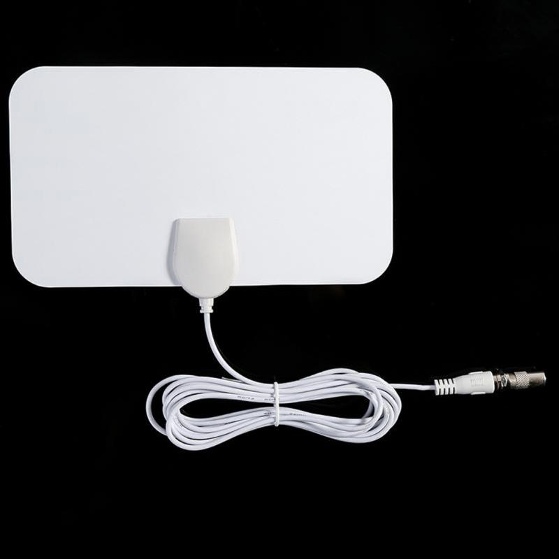 Antenna White European And American HDTV Antennas Cross-border Dedicated Mini HD Digital TV Antenna DVB-T2