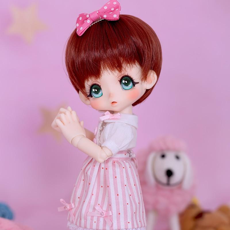 OUENEIFS bjd sd doll kinoko Juice Kiki 1/6 body model  baby girls dolls eyes High Quality toys shop  resin  luodoll 2