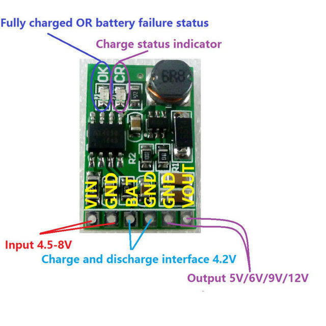 Charger Circuit Equipped With A Regulator Circuit Output Voltage