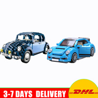 IN Stock Lepin 21014 The Ultimate Beetle +Xingbao 03015 Genuine MOC Technic The Beetle Car Model Set Blocks Toys Christmas Gifts
