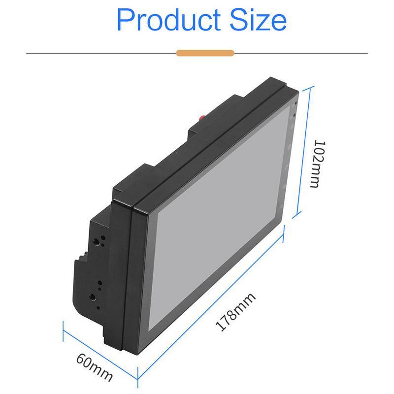 Offre spéciale 2 Din Automagnitol Android 8.1 voiture MP5 GPS lecteur Bluetooth Wifi Support caméra de recul lecteur multimédia autoradio - 6