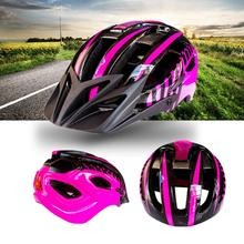Mounchain adult Unisex Bicycle Safety Helmet with Flash Light Integrated free size 54-63 cm