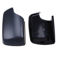 POSSBAY Car Styling Set Fit for BMW X5 E53 3.0d/3.0i/4.4i/4.6is/4.8is 1999-2006 Side Door Mirror Cover Matte Black Rear View Cap