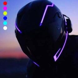 Мотоцикл ночь для верховой езды сигнала Водонепроницаемый прочный шлем комплект бар мигает полосы светодиодный свет Прямая доставка #1211
