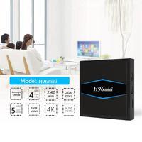 H96 Mini Smart TV Box S905W Quad Core Android7.1 TV Box 2GB+16GB BT4.0 Media Player US Plug Home Family Cinema System