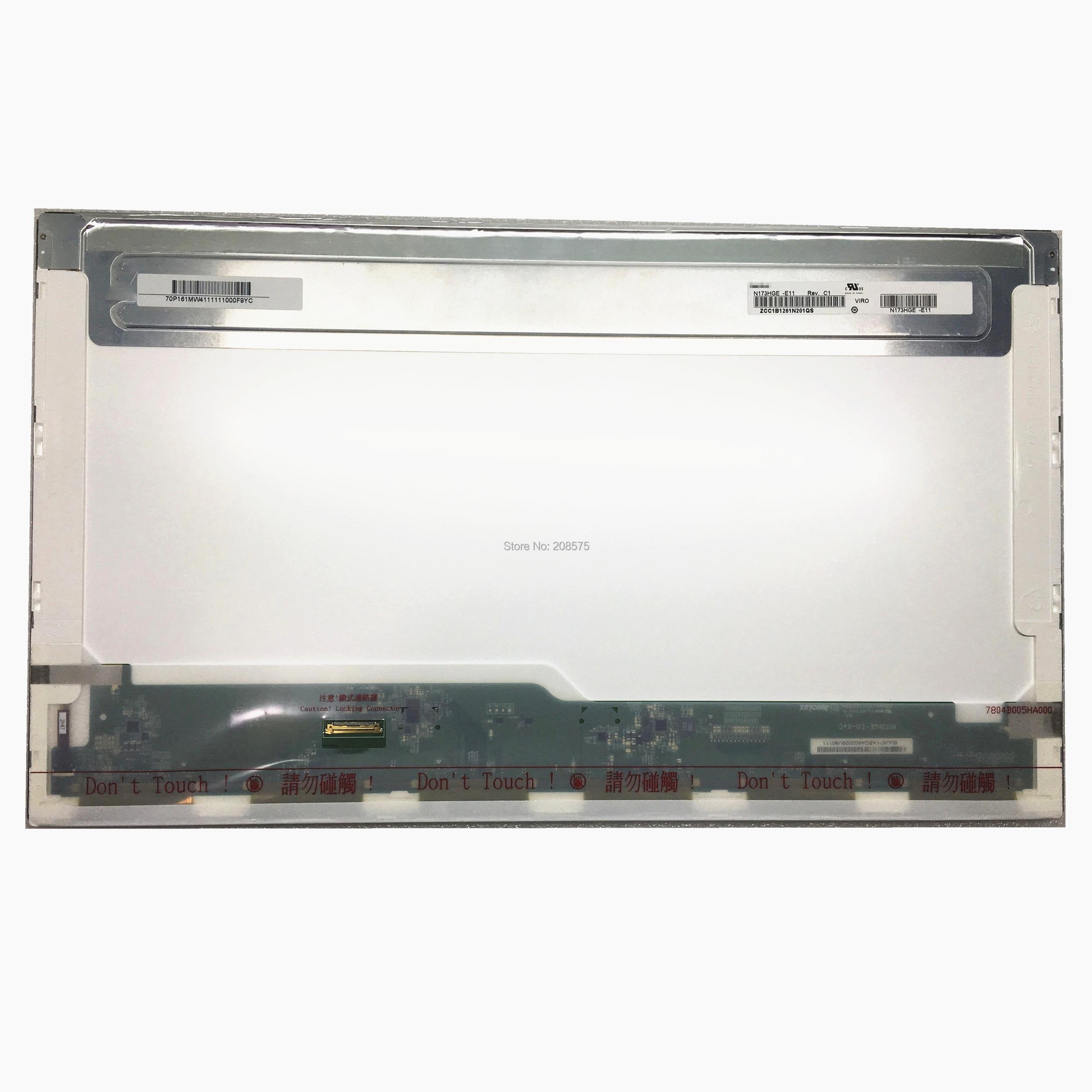 Free Shipping N173HGE E11 N173HGE E11 N173HGE E21 B173HTN01 1 1920 1080 FHD Display EDP 30