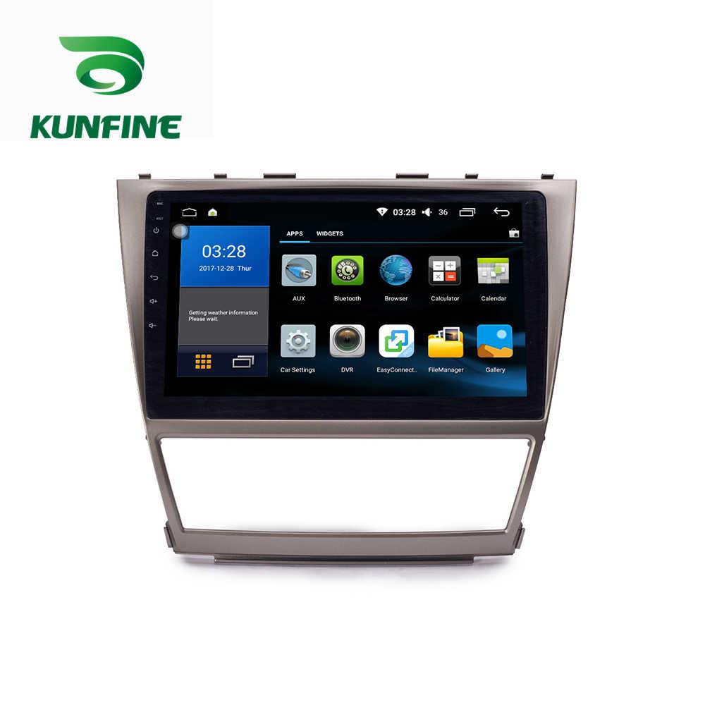 Octa Core 1024*600 Android 8.1 voiture DVD GPS lecteur de Navigation sans pont autoradio pour Toyota Camry 2007-2011 Radio Headunit