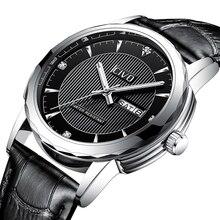 CIVO 2019 Элитный бренд для мужчин часы черный пояса из натуральной кожи часы для мужчин с водостойким Дата календари Аналоговый кварцевые…