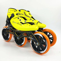 Cityrun Speed Inline Skates Carbon Fiber Professional Competition Skates 3 Wheels 125mm Racing Skating Patines Similar