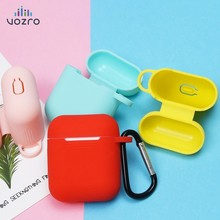 VOZRO Tpu Silicone Bluetooth Wireless Earphone Case For Airpods Protective Cover Skin Accessories For Apple Airpods Charging Box