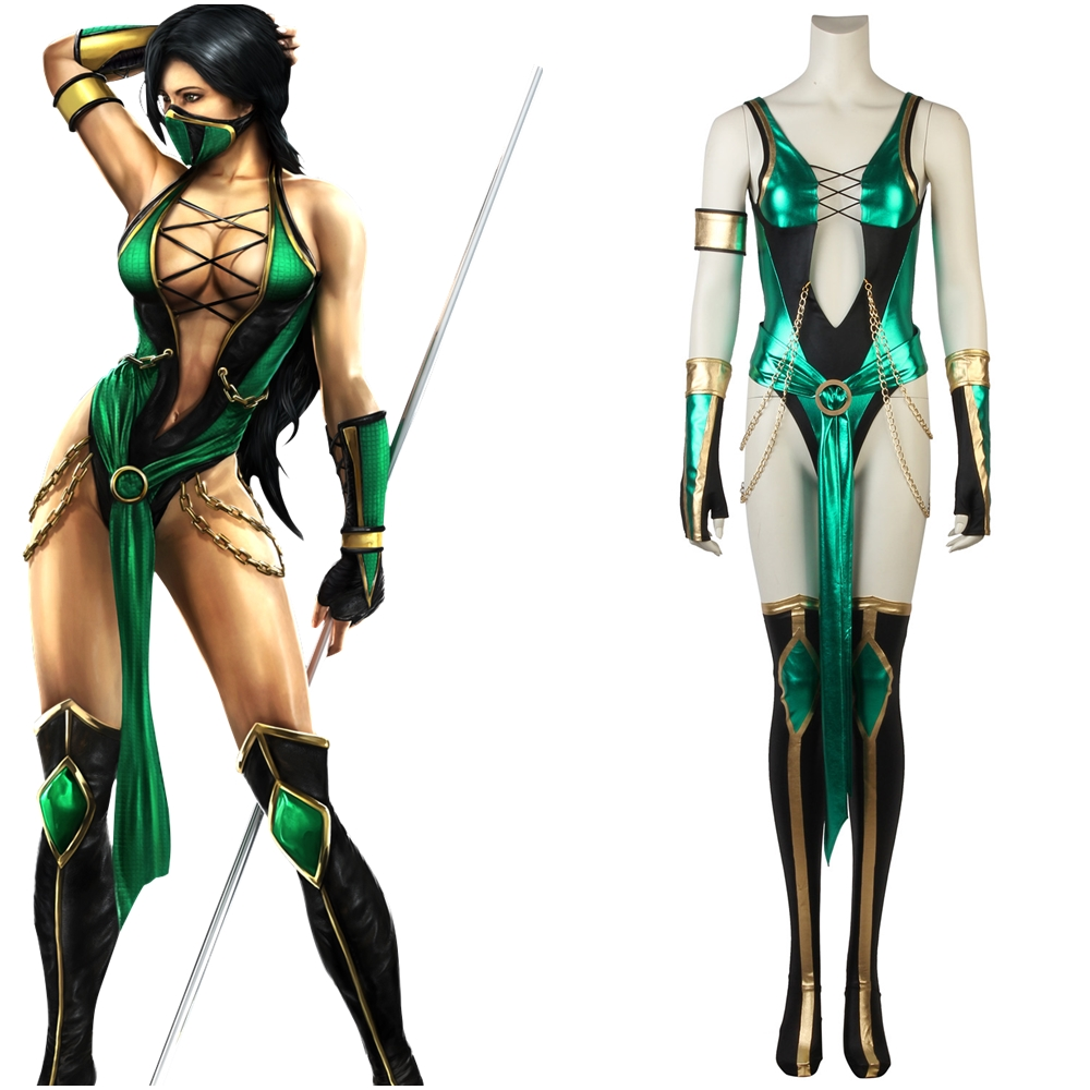 Mortal Kombat X Jade Cosplay Costume