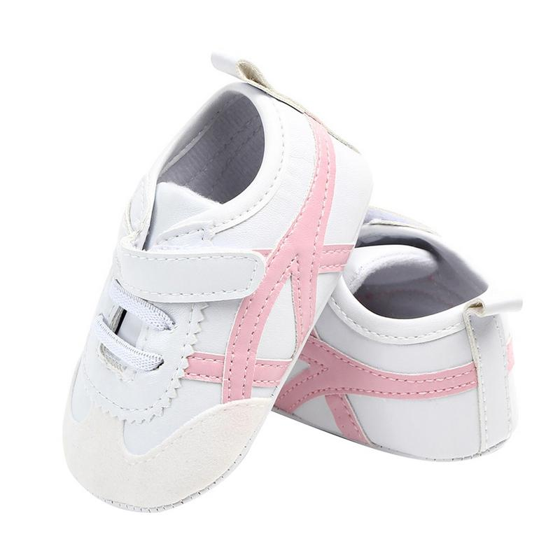 Toddler Shoes Girls Baby Casual And First-Walk Non-Slip Piecing Soft-Sole Comfortable