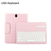 For Samsung Galaxy Tab S3 9.7 Case Smart Bluetooth USA Keyboard Flip Stand Leather Tablet Case For Samsung Tab S3 9.7 inch T820